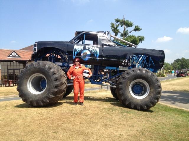 Karen Shutler Monster Truck Driver